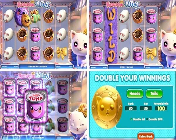 συμβολα και λετιορυγιες στο Online φρουτάκι Kawaii Kitty-Betsoft slots