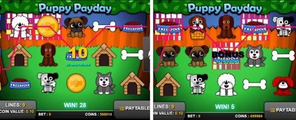 φρουτάκι Puppy payday-λειτουργιες