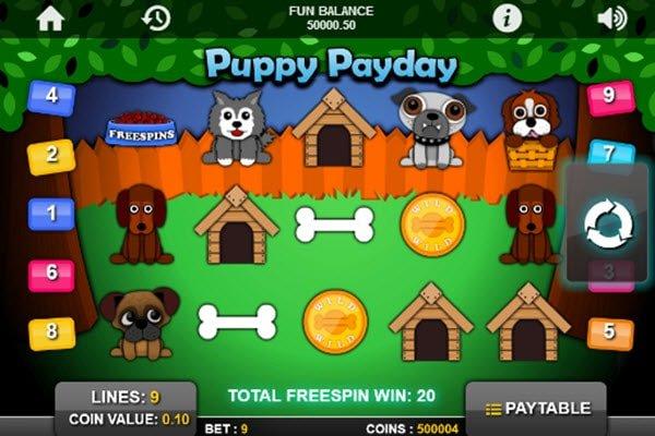 φρουτάκι Puppy payday