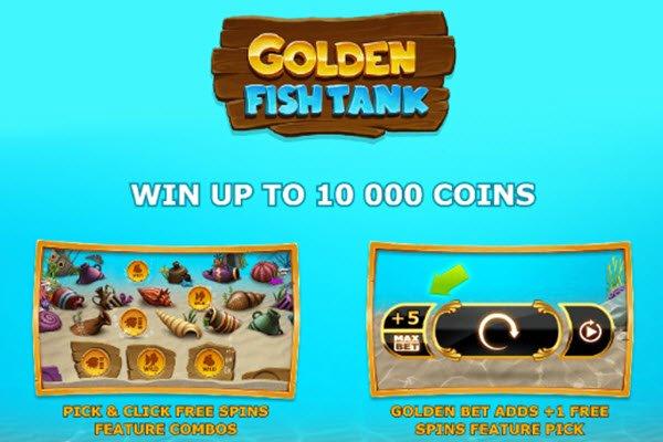 Φρουτάκι Golden fish tank της yggdrasil
