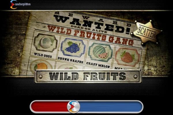 Κλασικό φρουτάκι Wild Fruits