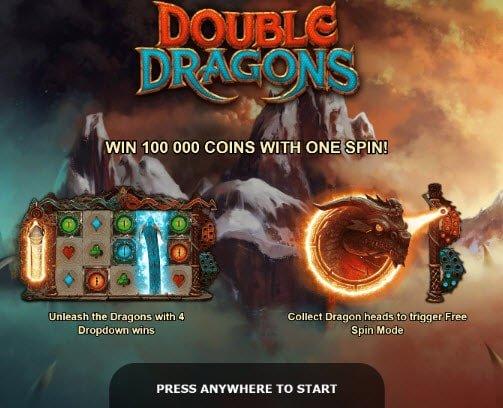 Double Dragons slot της Yggdrasil