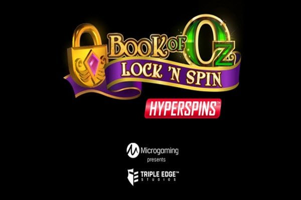 Δημοφιλές φρουτάκι Book of oz lock n spin της Microgaming