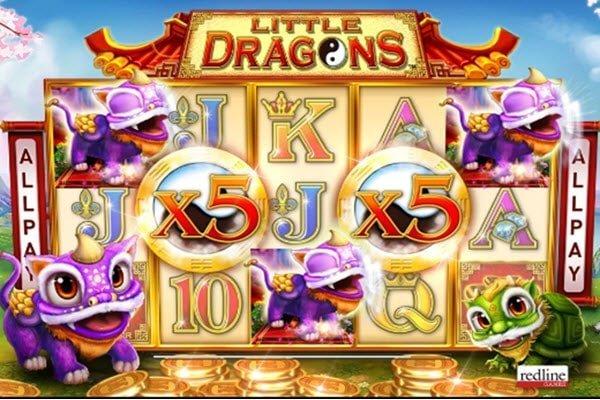 Φρουτάκι Little dragons της Novomatic