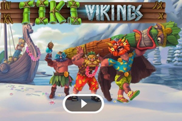 Φρουτάκια Microgaming -Tiki vikings