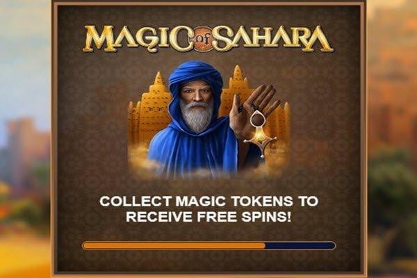 Φρουτάκι Magic of Sahara της Microgaming