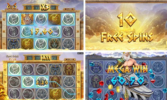 φρουτάκι Ancient Fortunes: Zeus της Microgaming και λειτουργιες