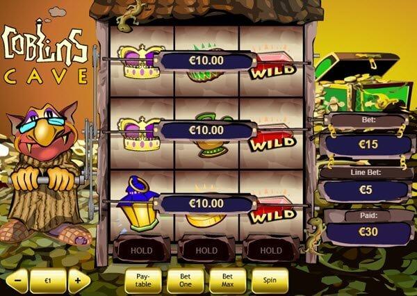 φρουτάκι Goblin's Cave της playtech στα δημοφιλή δωρεάν φρουτάκια της Playtech