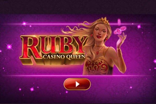 Φρουτάκι Ruby casino queen της Microgaming