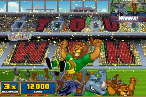 Φρουτάκι Soccer safari της Microgaming