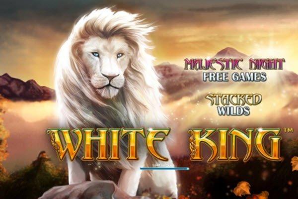 Φρουτάκια με ζώα της Playtech- White king