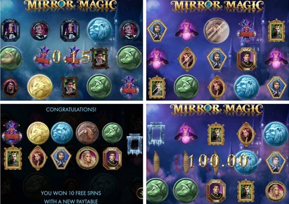 δωρεάν περιστροφές στο Φρουτάκι Mirror magic
