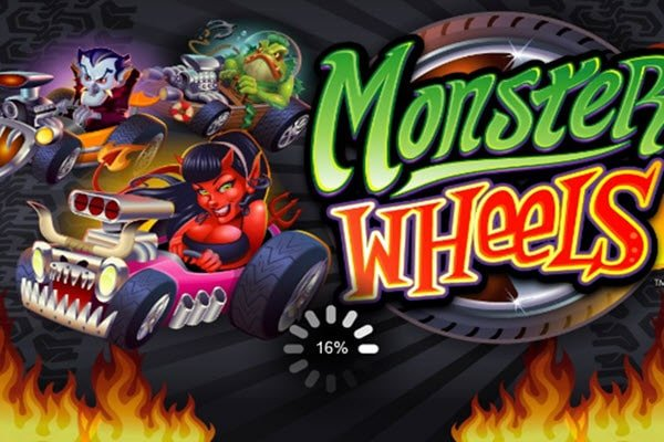 φρουτάκι Monster wheels της Microgaming