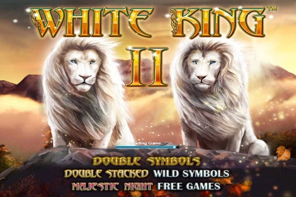 Φρουτάκι White king II της Playtech
