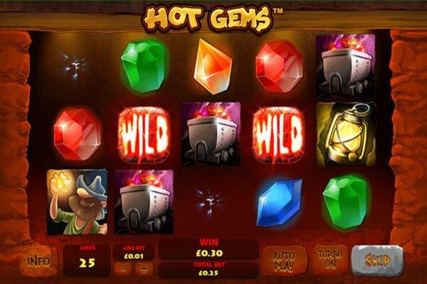 Hot Gems της Playtech