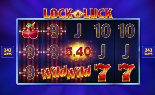 Locked Reels features και wild στο Lock a luck της Microgaming