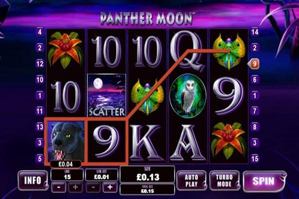Φρουτάκι Panther Moon Playtech