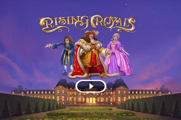 Rising royals της Microgaming