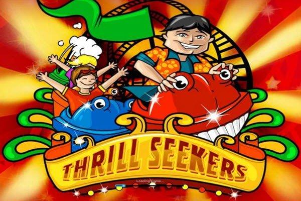 Φρουτάκι Thrill seekers- προοδευτικά φρουτάκια της Playtech