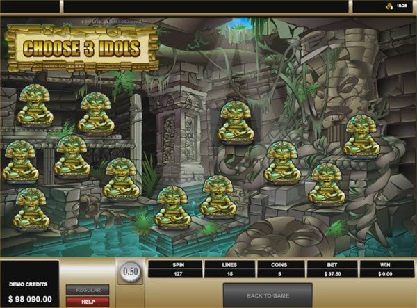Tomb Raider slot και Tomb bonus game