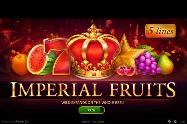 Imperial Fruits: 5 Lines Κλασικά φρουτακια της Playson