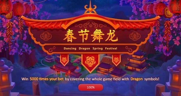 Φρουτάκι Dancing Dragon Spring Festival της Playson