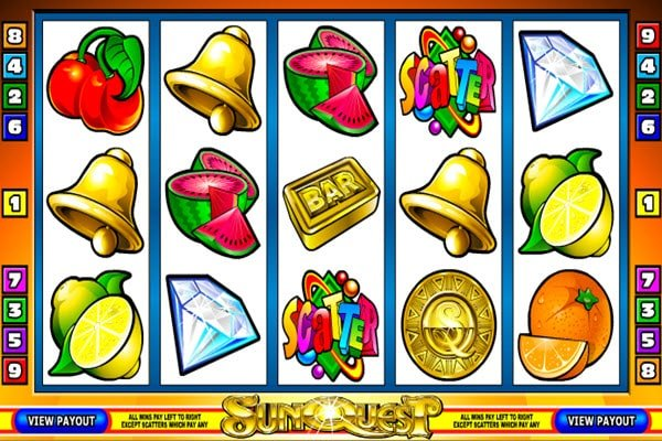 Sunquest της Microgaming