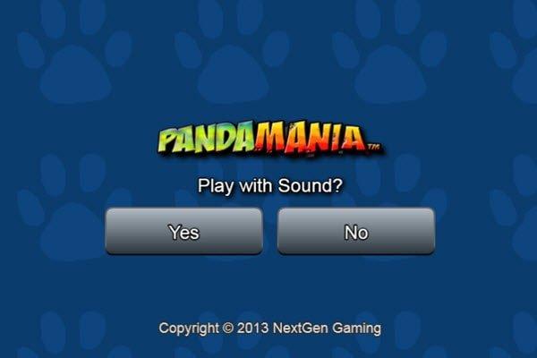 Pandamania - φρουτάκια πολλαπλών γραμμών της NextGen