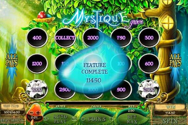 Φρουτάκι Mystique Grove της Microgaming