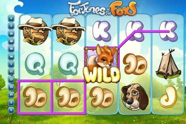 Fortunes Of The Fox και σύμβολο wild