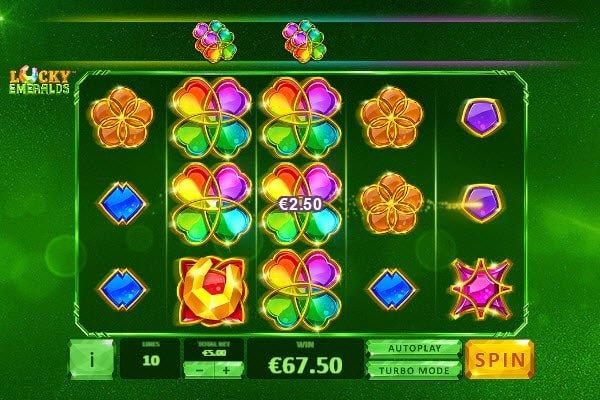 Φρουτάκι Lucky Emeralds της Playtech