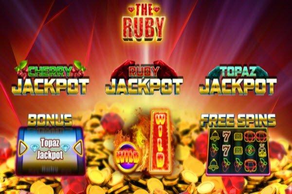 The Ruby: Φρουτάκια της iSoftBet με προοδευτικό τζακποτ