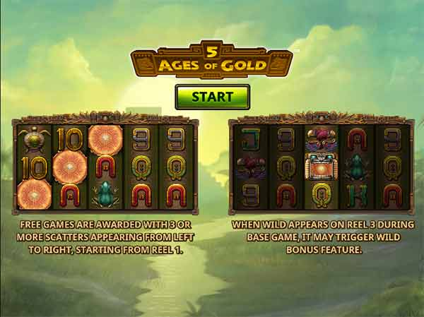 5 Ages of Gold της Playtech