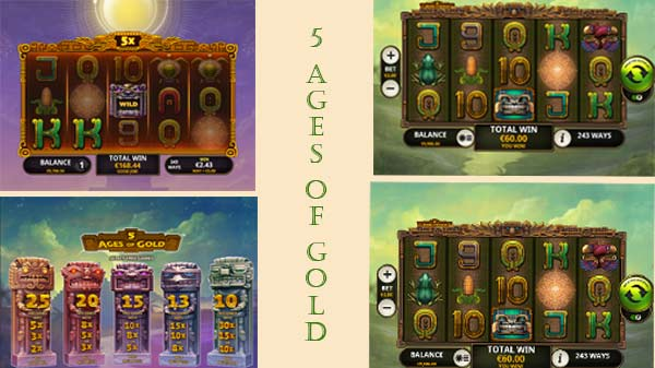 5 Ages of Gold της Playtech-φρουτακια playtech και λειτουργίες