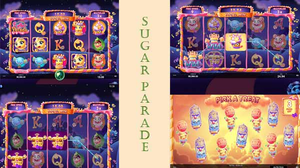 φρουτάκι sugar parade- μπονους χαρακτηριστικά