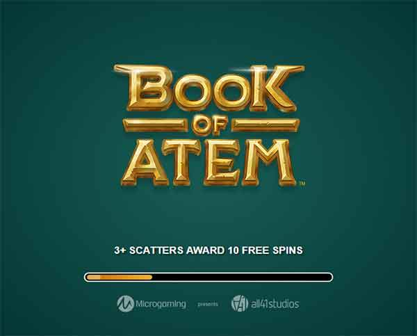 book of atem- froytakia με free spins
