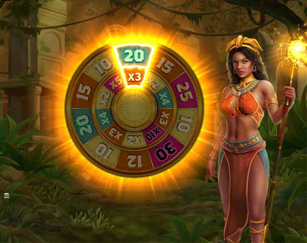 Online φρουτάκια -Tarzan and the Jewels of Opar και Free Spins Wheel feature