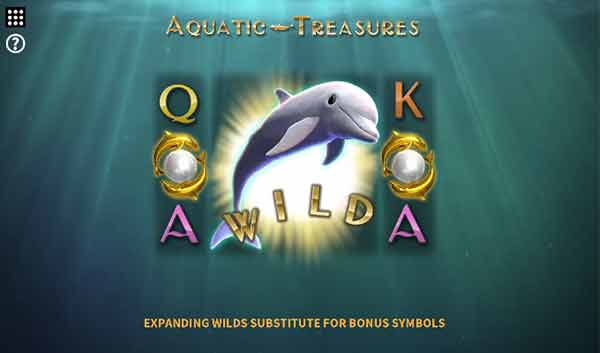 Aquatic treasures της Microgaming