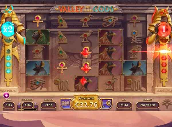 Yggdrasil Gaming: re-spins στο φρουτάκι Valley of the Gods