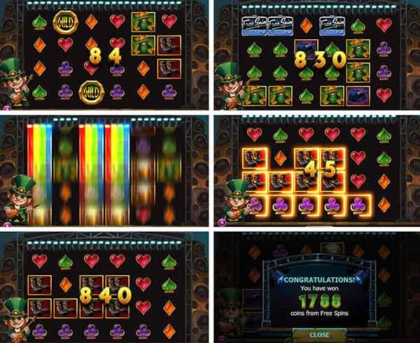 χαρακτηριστικά στο Φρουτάκι Rainbow ryan της Yggdrasil Gaming