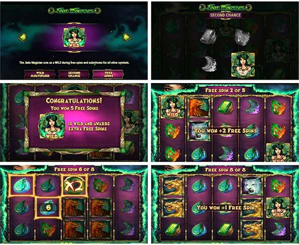 φρουτάκι jade magician και λειτουργίες